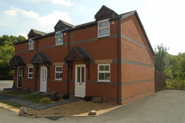 Thumbnail Terraced house for sale in Glendower Court, Falstaff Street, Shrewsbury