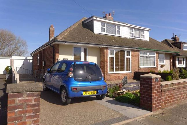 Thumbnail Semi-detached bungalow for sale in Hexham Avenue, Thornton-Cleveleys