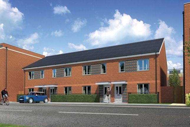 Thumbnail End terrace house for sale in Meridian Waterside, Southampton