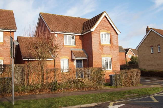 Thumbnail Detached house for sale in Brook Farm Road, Saxmundham
