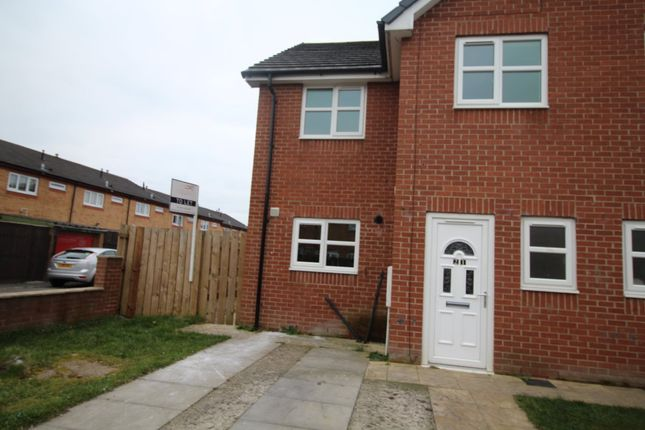 Thumbnail Semi-detached house to rent in Douthwaite Road, Bishop Auckland