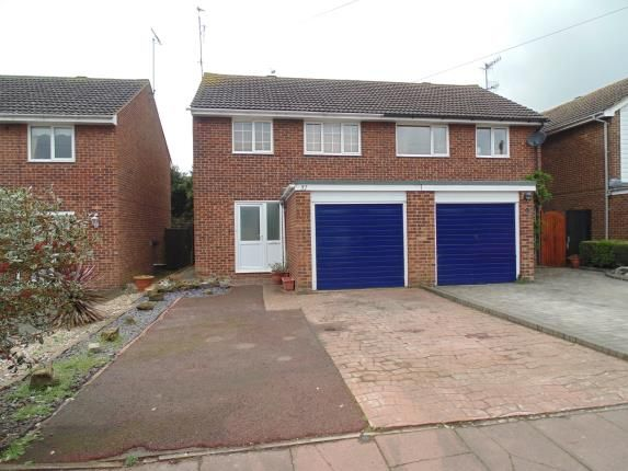 Thumbnail Semi-detached house for sale in Wear Road, Worthing, West Sussex