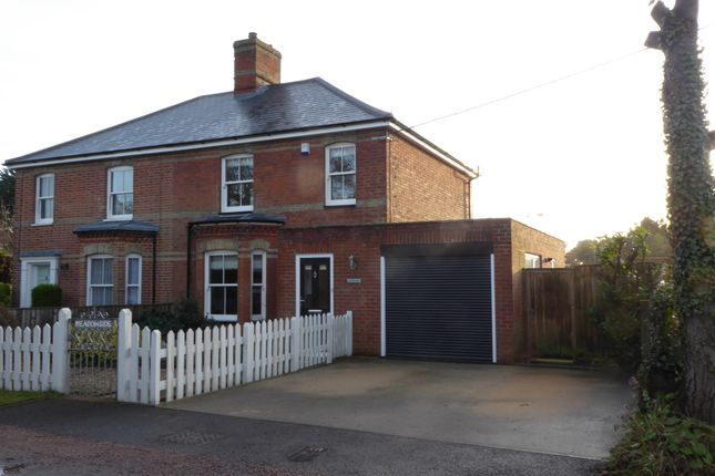Semi-detached house for sale in Aldeburgh Road, Aldringham, Leiston