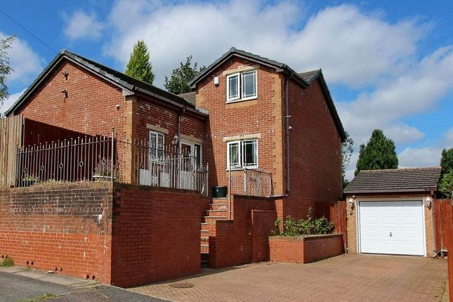 Thumbnail Detached house for sale in Nuttall Avenue, Whitefield, Manchester