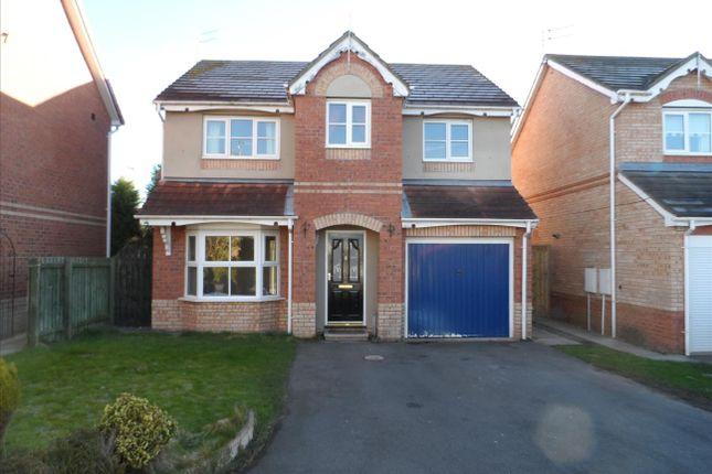Thumbnail Detached house to rent in Warren Court, Ashington