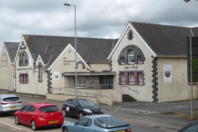 Thumbnail Commercial property for sale in River, Stranraer Road, Pennar, Pembroke Dock