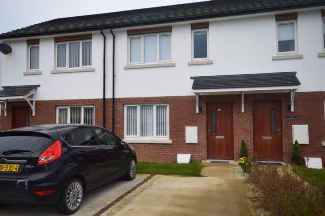 Thumbnail Terraced house to rent in Slieu Whallian View, Peel