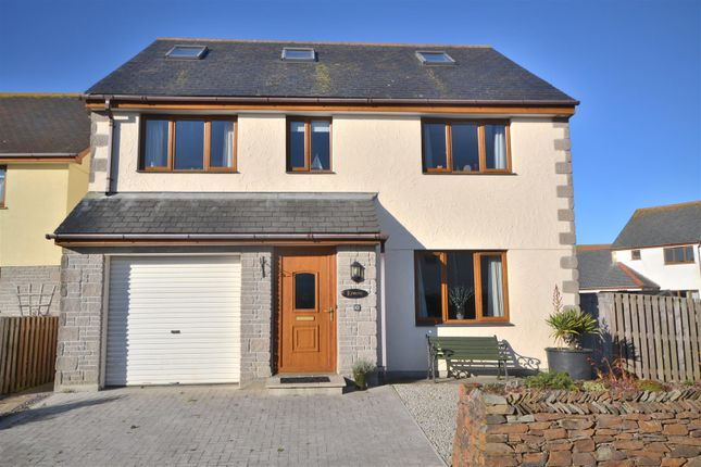 Thumbnail Detached house for sale in Green Field Close, The Lizard, Helston