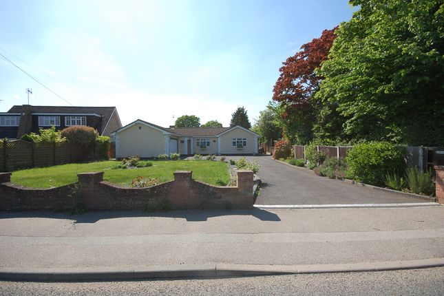Thumbnail Detached bungalow for sale in Church Road, Ramsden Bellhouse, Essex