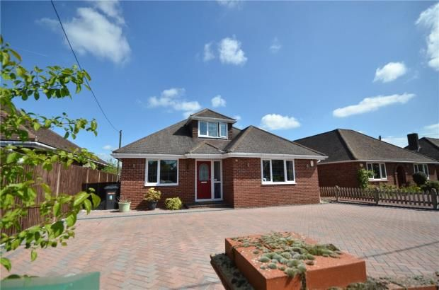 Thumbnail Detached bungalow for sale in Highlands Road, Basingstoke, Hampshire