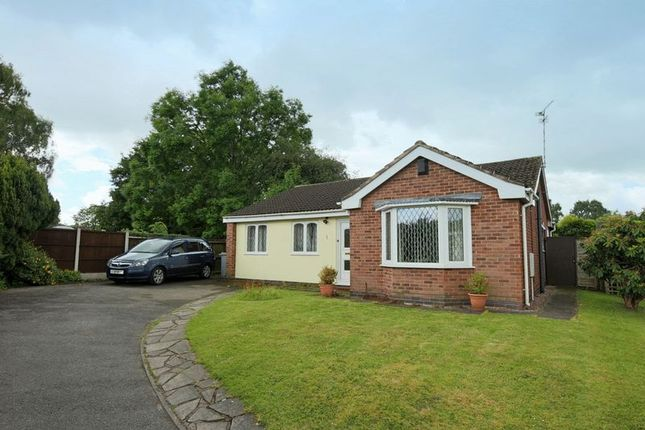 Thumbnail Bungalow for sale in Tilstone Close, Hough, Crewe