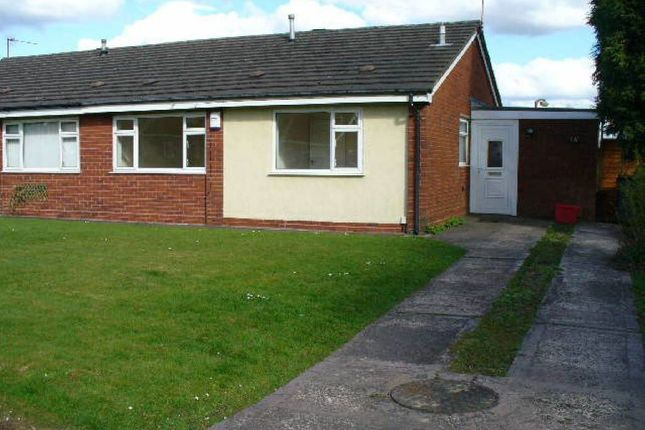 Thumbnail Semi-detached bungalow to rent in Regent Drive, St. Georges, Telford