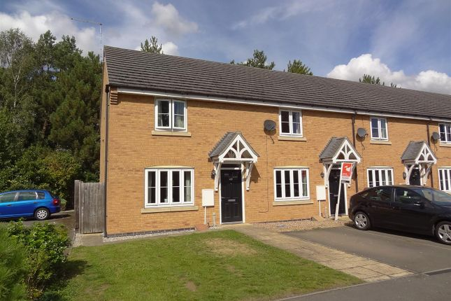 Thumbnail End terrace house for sale in Murrayfield Avenue, Greylees, Sleaford