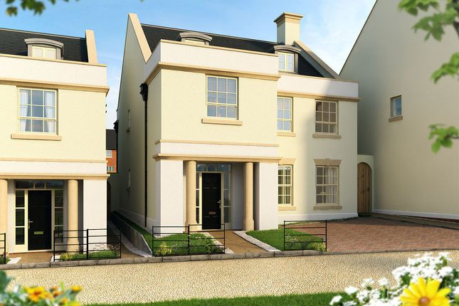 "Thumbnail Detached house for sale in ""The Darcy "" at Pitt Road, Winchester"