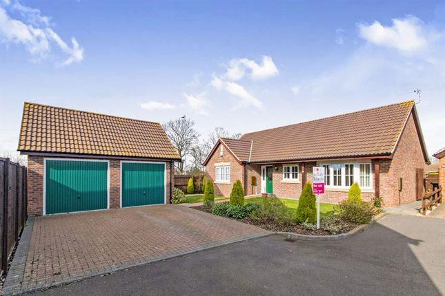 Thumbnail Detached bungalow for sale in Harvest Way, Skegness