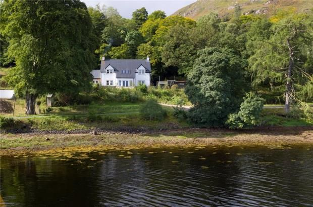 Thumbnail Detached house for sale in The Moorings, Camusnagaul, Fort William, Highland