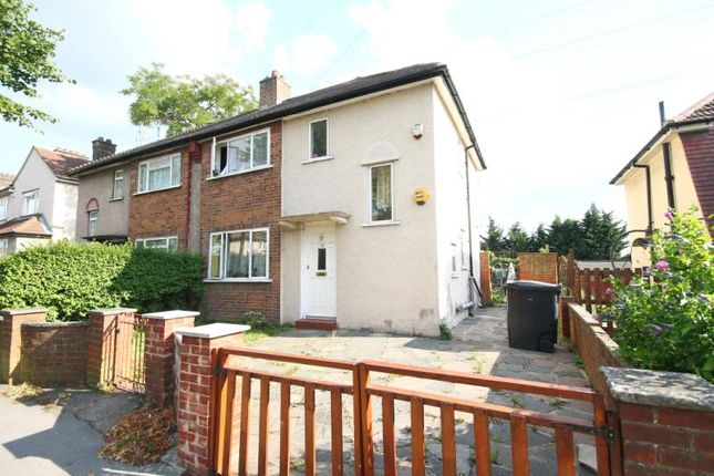 Thumbnail Semi-detached house for sale in Martin Crescent, Croydon