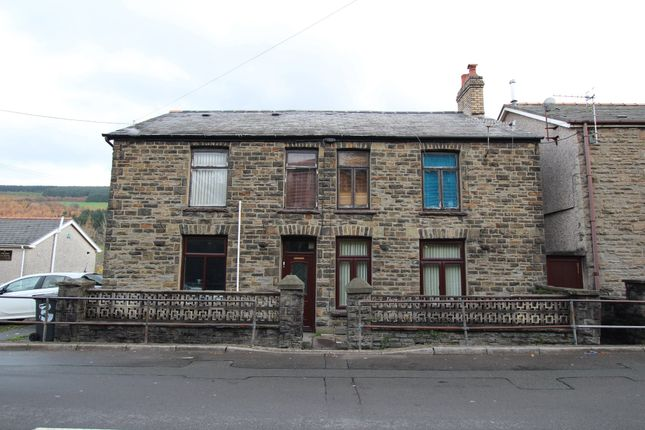 Thumbnail End terrace house for sale in Penrhiwceiber Road (M14), Mountain Ash