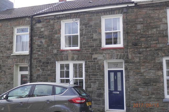 Thumbnail Terraced house to rent in Gwendoline Street, Tynewydd, Rhondda Cynon Taff.