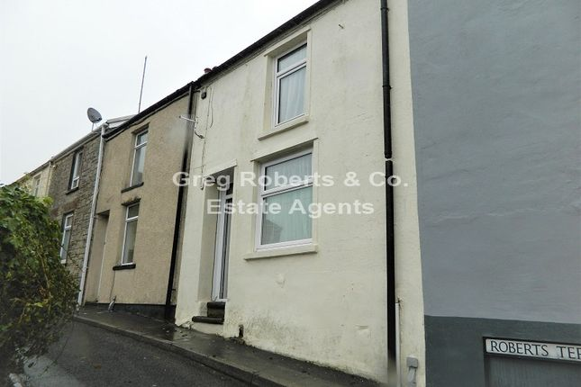 Thumbnail Terraced house for sale in Roberts Terrace, Georgetown, Tredegar