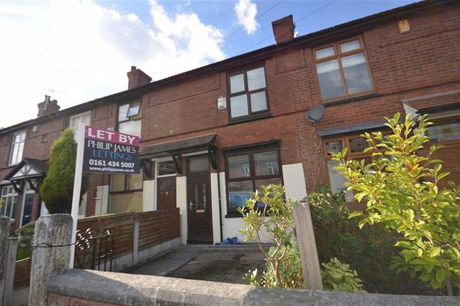 Thumbnail Terraced house to rent in Dundonald Road, Didsbury, Manchester, Greater Manchester