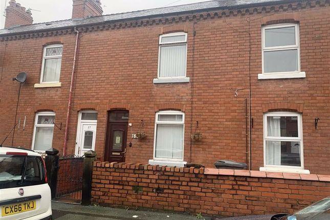 Terraced house for sale in Edward Street, Wrexham