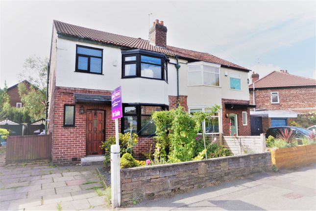 Thumbnail Semi-detached house for sale in Hewlett Road, Chorlton