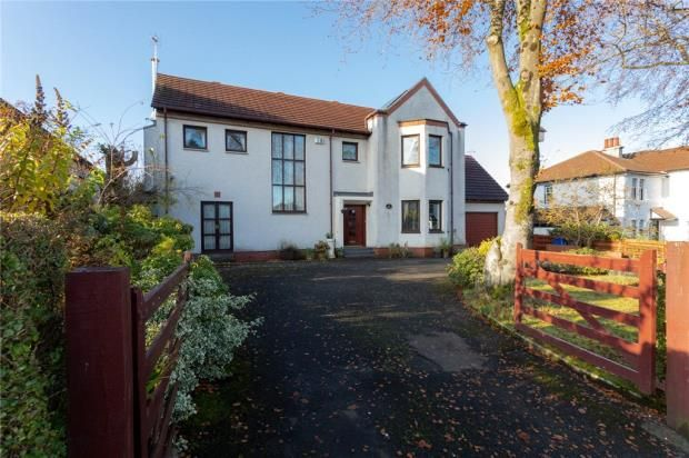 Thumbnail Detached house for sale in Victoria Road, Brookfield, Johnstone, Renfrewshire