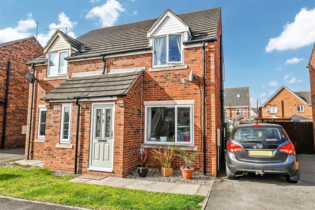 2 bed semi-detached house for sale in Ferry Meadows Park, Kingswood, Hull HU7