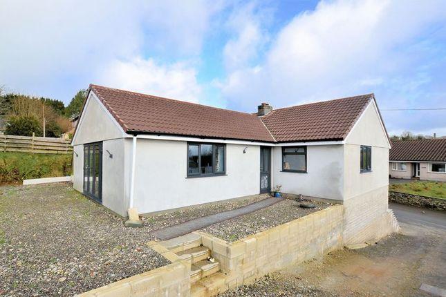 Thumbnail Detached bungalow for sale in Harrowbarrow, Callington