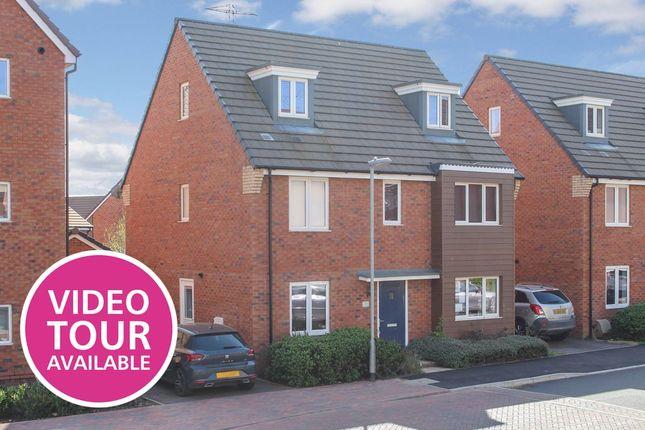 Thumbnail Detached house for sale in Dunnock Drive, Leighton Buzzard