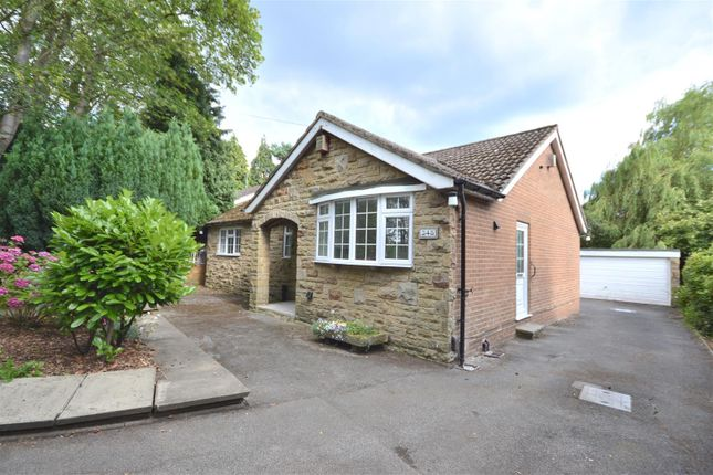 Thumbnail Detached bungalow to rent in Alwoodley Lane, Alwoodley, Leeds