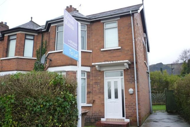 Thumbnail Semi-detached house to rent in Shore Road, Belfast