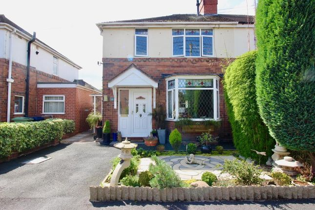 Thumbnail Semi-detached house for sale in Longfield Avenue, Stone, Staffordshire