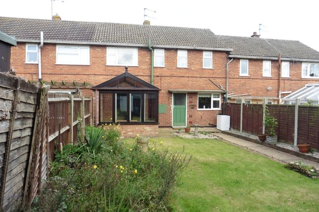 Thumbnail Terraced house for sale in Greenway Close, Fakenham