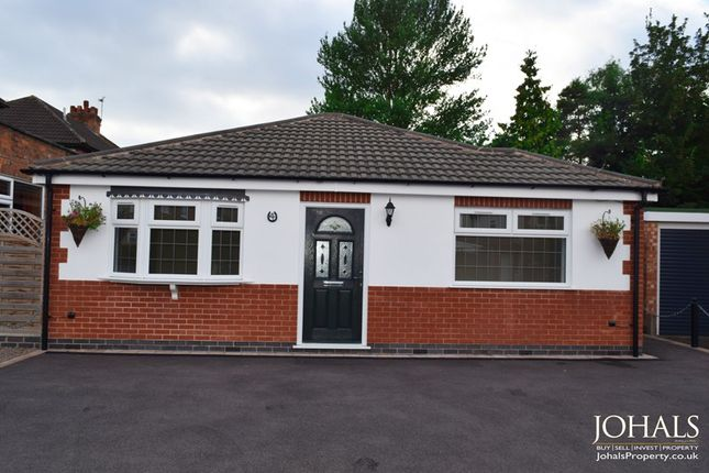 Thumbnail Bungalow for sale in Gwendolin Avenue, Leicester, Leicestershire