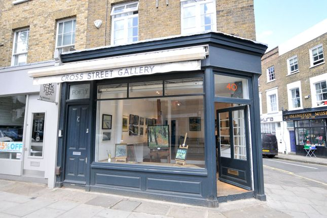 Thumbnail Retail premises for sale in Cross Street, Canonbury