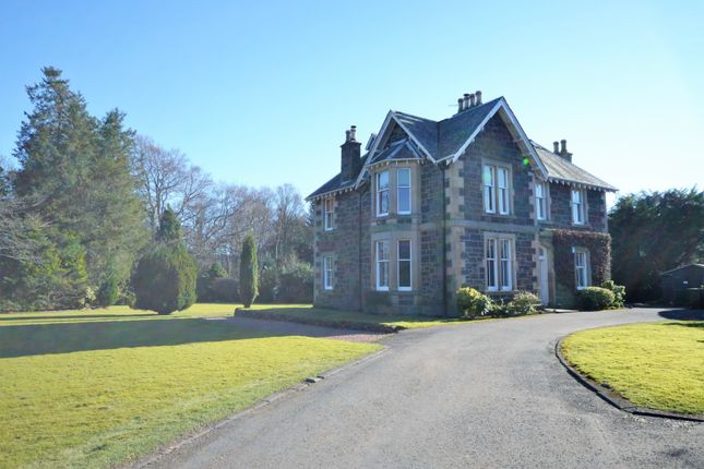 Thumbnail Country house for sale in Drummond Street, Crieff