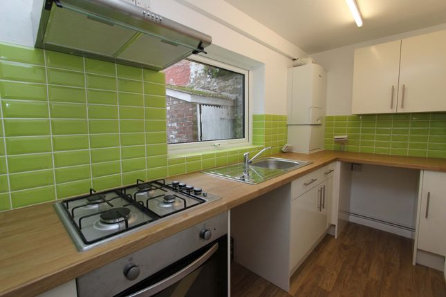 Thumbnail Terraced house to rent in Beaumont Avenue, Plymouth