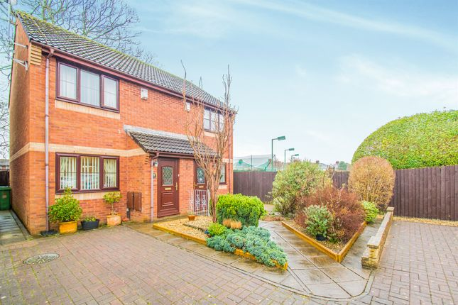 Thumbnail Semi-detached house for sale in Ashchurch Close, Whitchurch, Cardiff