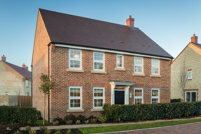 "Thumbnail Detached house for sale in ""Chelworth"" at Priorswood, Taunton"