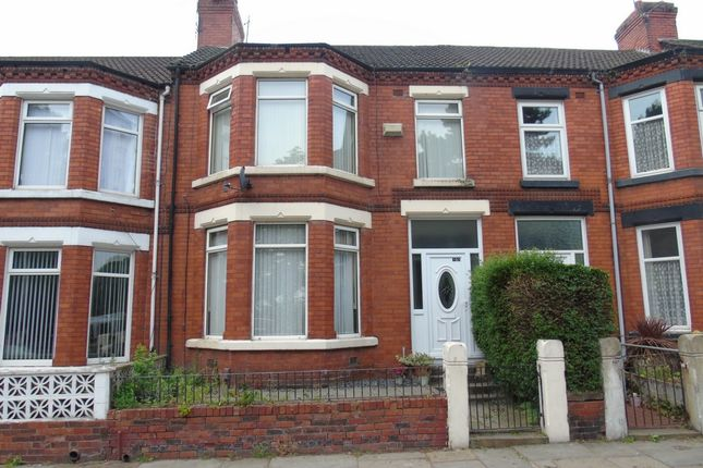 Thumbnail Terraced house to rent in Bebington Road, Birkenhead