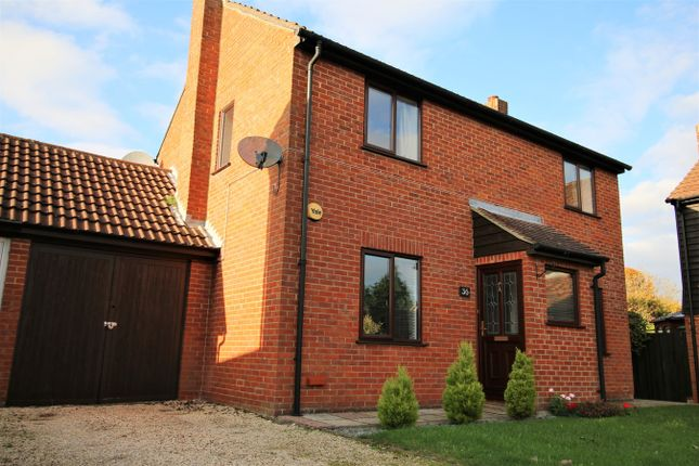Thumbnail Detached house for sale in Saxon Way, Lychpit, Basingstoke