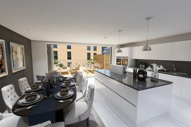 """Thumbnail Terraced house for sale in """"Acer"""" at Hamilton Drive, Glasgow"""