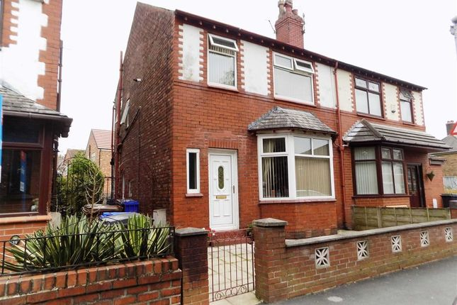 Thumbnail Semi-detached house for sale in Thornley Lane North, Stockport