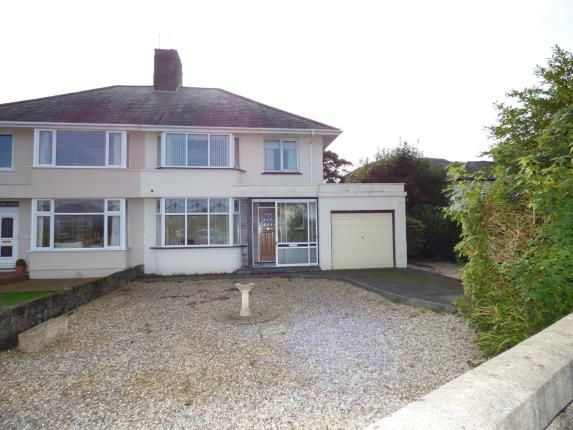 Thumbnail Semi-detached house for sale in Meadow Drive, Porthmadog, Gwynedd