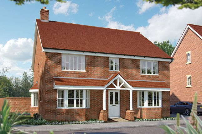 "Thumbnail Detached house for sale in ""The Winchester"" at Maddoxford Lane, Botley, Southampton"