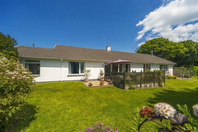 Thumbnail Detached bungalow for sale in Trewinnard Road, Perranwell Station, Truro