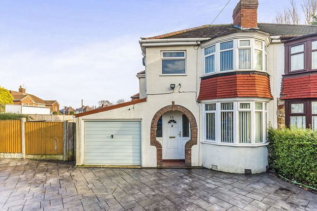 Thumbnail Semi-detached house for sale in Dovedale Avenue, Willenhall