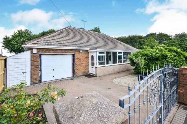 Thumbnail Bungalow for sale in Mansfield Road, Tibshelf, Alfreton, Derbyshire